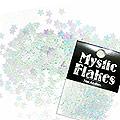 MysticFlakes パステルグリーン スター 0.5g