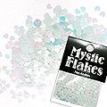 MysticFlakes パステルグリーン ミニハート 0.5g