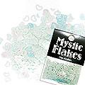 MysticFlakes パステルグリーン ハート&ムーン 0.5g