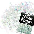MysticFlakes パステルグリーン フラワー 0.5g