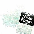 MysticFlakes パステルグリーン ティアドロップ 0.5g