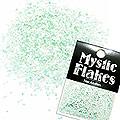 MysticFlakes パステルグリーン ヘキサゴン 1mm 0.5g
