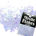 MysticFlakes パステルパープル ミニハート 0.5g