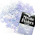 MysticFlakes パステルパープル ハート&ムーン 0.5g