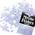 MysticFlakes パステルパープル フラワー 0.5g