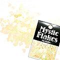 MysticFlakes パステルイエロー ハート 0.5g