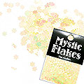 MysticFlakes パステルイエロー フラワー 0.5g