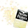 MysticFlakes パステルイエロー ヘキサゴン 2.5mm 0.5g