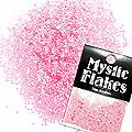 MysticFlakes パステルピンク サークル 1mm 0.5g