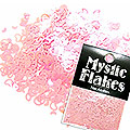 MysticFlakes パステルピンク ハート&ムーン 0.5g