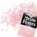 MysticFlakes パステルピンク バタフライ 0.5g