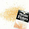 MysticFlakes シェル オレンジ 0.5g