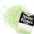 MysticFlakes シェル ライトグリーン 0.5g