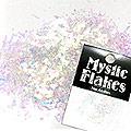 MysticFlakes オーロラホワイト 乱切 1g