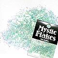 MysticFlakes パールエメラルドグリーン 乱切 1g
