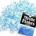 MysticFlakes オーロラブルー 乱切 1g