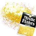 MysticFlakes オーロライエロー 乱切 1g