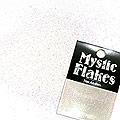 MysticFlakes オーロラホワイト ラメフレーク 0.5g