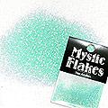 MysticFlakes パールエメラルドグリーン ラメフレーク 0.5g