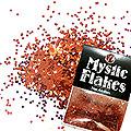 MysticFlakes メタリックレッド サークル 1mm 0.5g