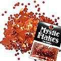 MysticFlakes メタリックレッド サークル 2mm 0.5g