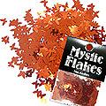 MysticFlakes メタリックレッド バタフライ 0.5g