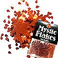 MysticFlakes メタリックレッド ティアドロップ 0.5g