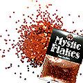 MysticFlakes メタリックレッド ヘキサゴン 1mm 0.5g