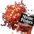 MysticFlakes メタリックレッド ヘキサゴン 2.5mm 0.5g