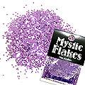 MysticFlakes メタリックダークパープル サークル 1mm 0.5g