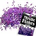 MysticFlakes メタリックダークパープル サークル 2mm 0.5g