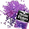 MysticFlakes メタリックダークパープル スター 0.5g
