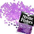MysticFlakes メタリックダークパープル ハート 0.5g