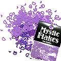 MysticFlakes メタリックダークパープル ハート&ムーン 0.5g