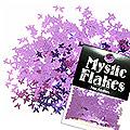 MysticFlakes メタリックダークパープル バタフライ 0.5g