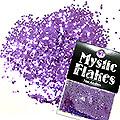 MysticFlakes メタリックダークパープル ヘキサゴン 1mm 0.5g
