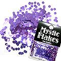 MysticFlakes メタリックダークパープル ヘキサゴン 2.5mm 0.5g