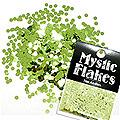 MysticFlakes メタリックLtグリーン サークル 2mm 0.5g