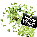 MysticFlakes メタリックLtグリーン スター 0.5g