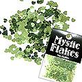 MysticFlakes メタリックLtグリーン ミニハート 0.5g
