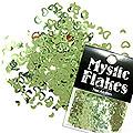 MysticFlakes メタリックLtグリーン ハート&ムーン 0.5g
