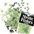 MysticFlakes メタリックLtグリーン フラワー 0.5g