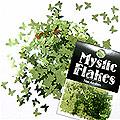 MysticFlakes メタリックLtグリーン バタフライ 0.5g