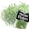 MysticFlakes メタリックLtグリーン ヘキサゴン 1mm 0.5g