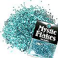 MysticFlakes メタリックエメラルドグリーン サークル 1mm 0.5g