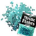 MysticFlakes メタリックエメラルドグリーン スター 0.5g
