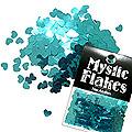MysticFlakes メタリックエメラルドグリーン ハート 0.5g