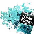 MysticFlakes メタリックエメラルドグリーン ミニハート 0.5g