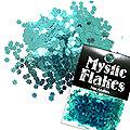 MysticFlakes メタリックエメラルドグリーン フラワー 0.5g