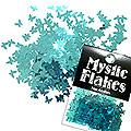 MysticFlakes メタリックエメラルドグリーン バタフライ 0.5g